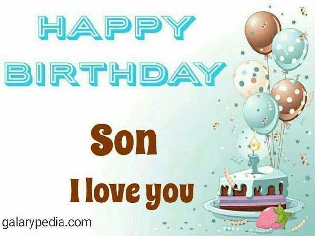 Son birthday images