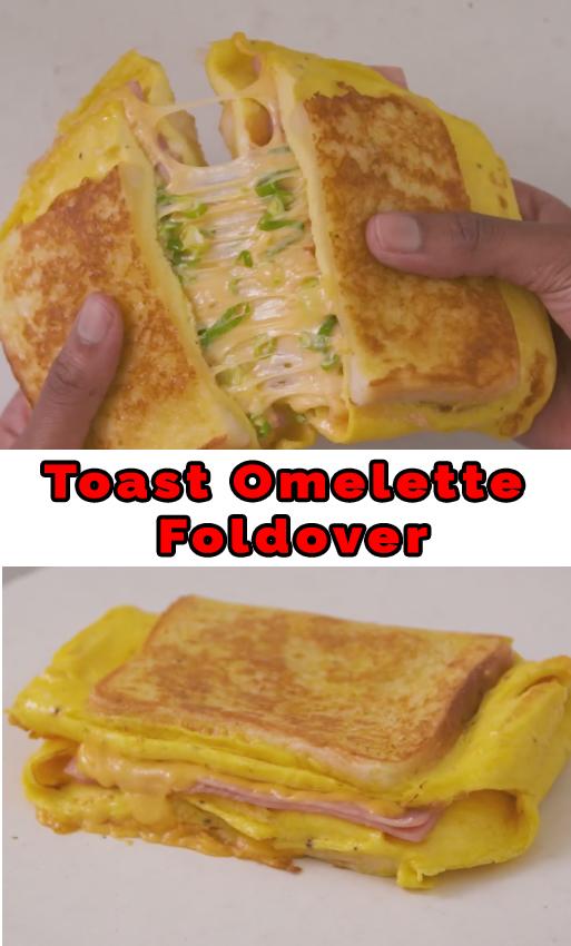 Toast Omelete Foldover