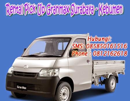 Sewa Pick Up Granmax Surabaya-Kebumen
