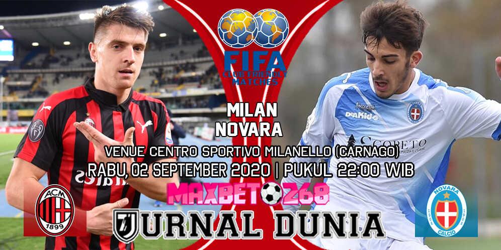 Prediksi AC Milan vs Novara