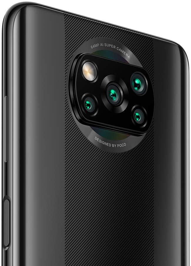 cámara cuádruple AI con un sensor primario de 64MP