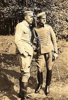 Józef Piłsudski i Bolesław Wieniawa Długoszowski