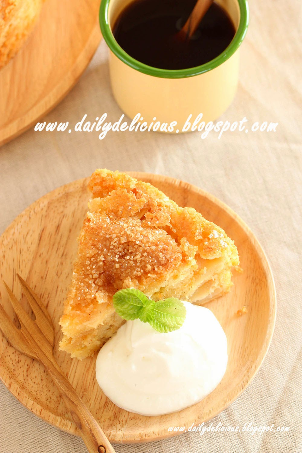 Soft Apple Cake