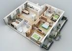 Menghitung dengan Mudah Biaya Pembangunan Rumah 3 Kamar Tidur