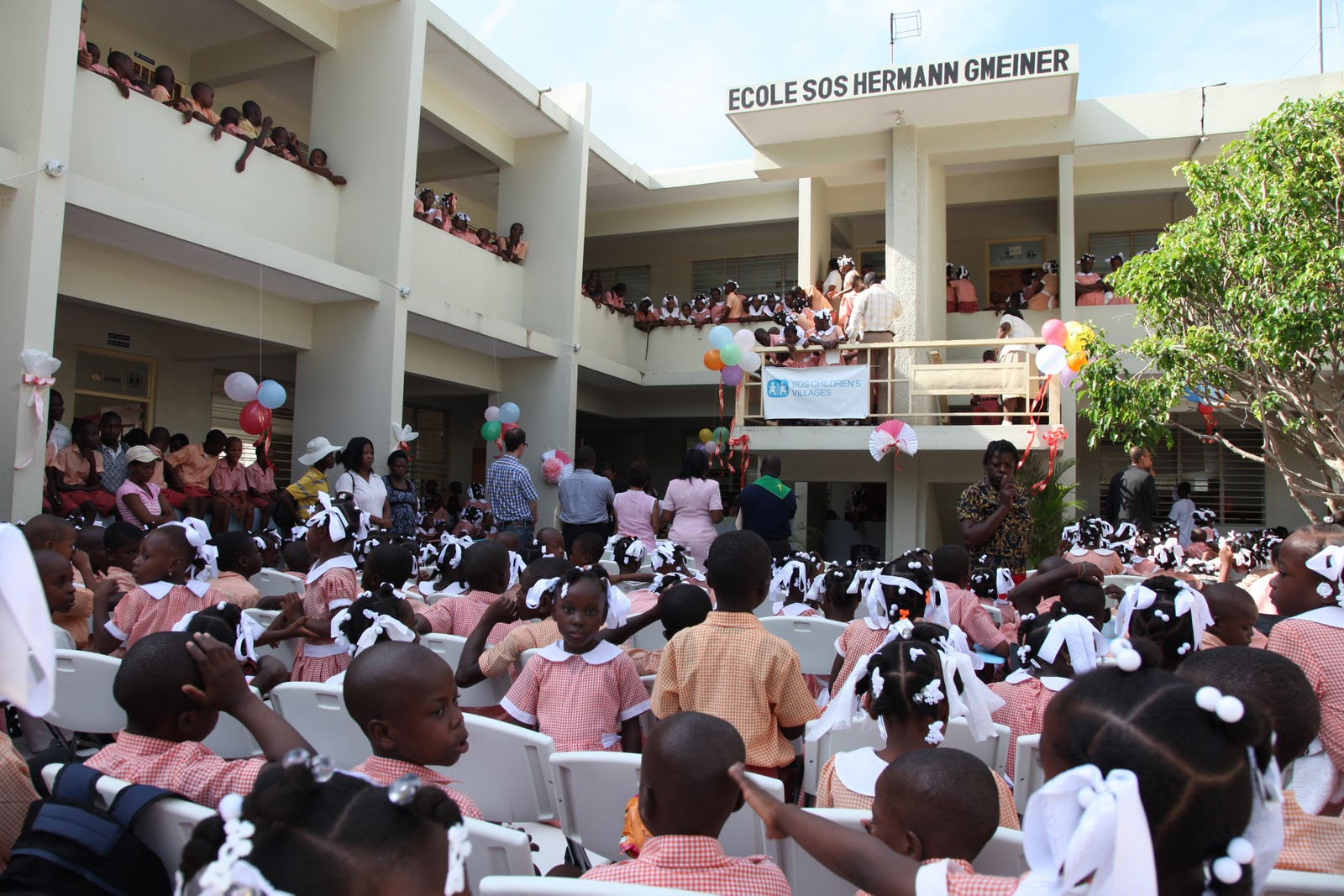 Haiti Earthquake Updates: Loud and new: SOS Schools open their doors
