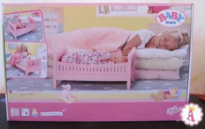 Кроватка для куклы Беби Борн