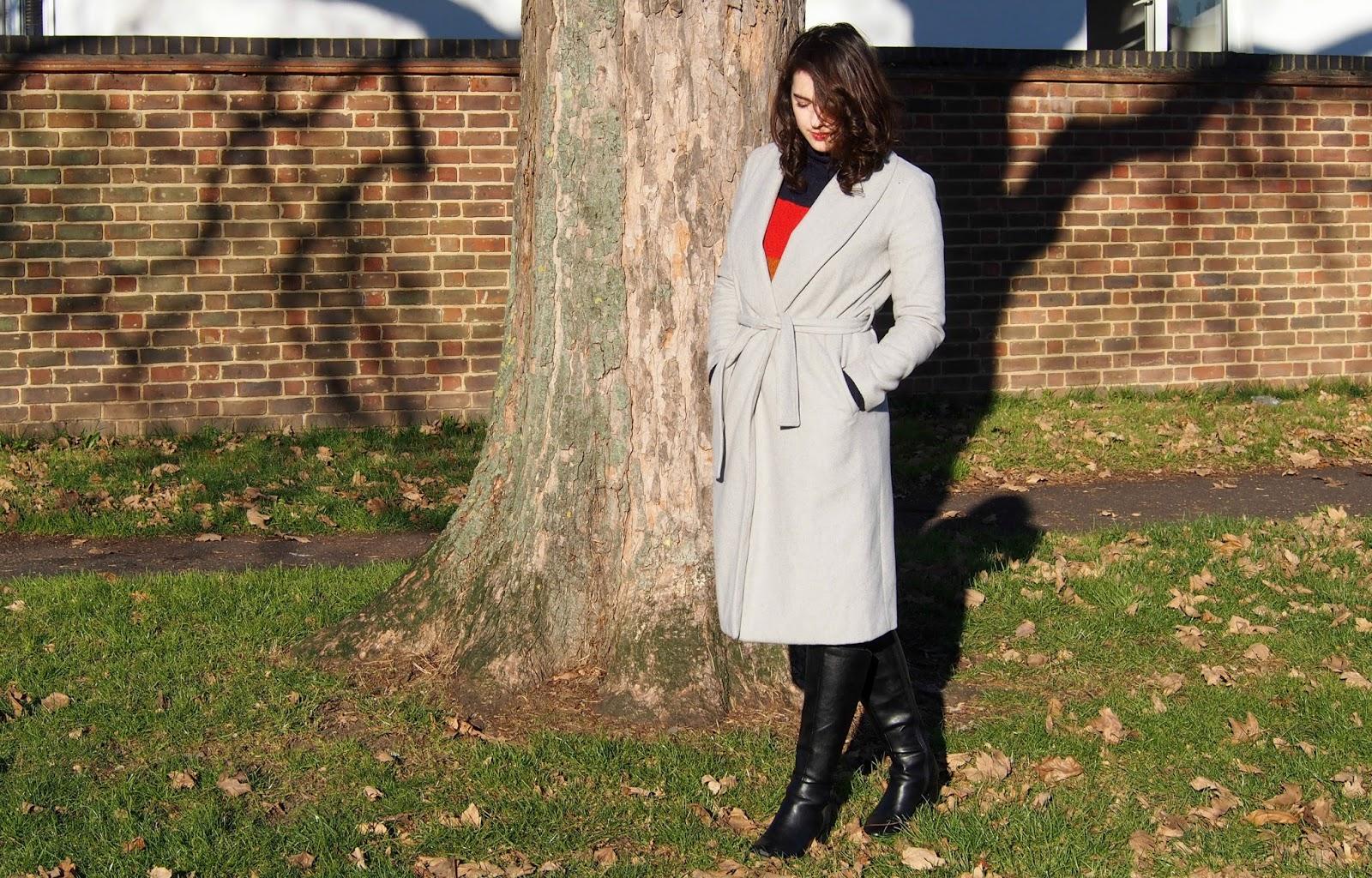 full length view of coat