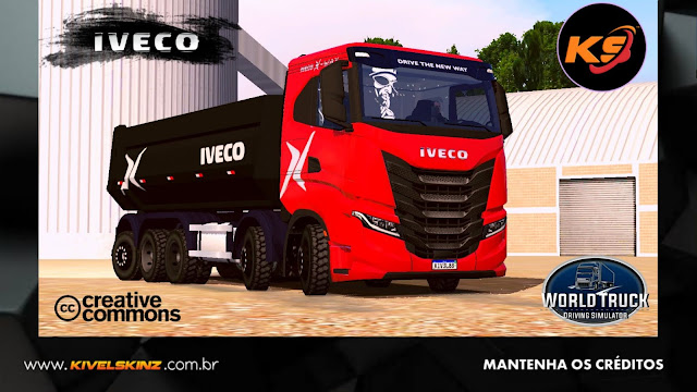 IVECO X-WAY - RED EDITION