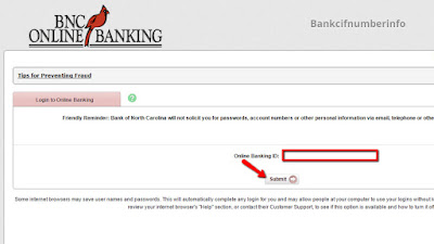 BNC Online Banking Login