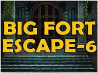 Mirchigames Big fort Escape 6 Walkthrough