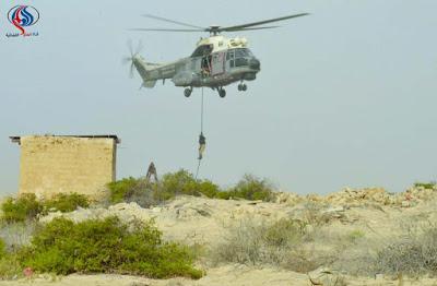 الجكومة اليمنية تتهم رسمياً ايران بإنزال جوي لاسلحة وذخائر في احدى الجزر اليمنية قبالة الحديدة ..