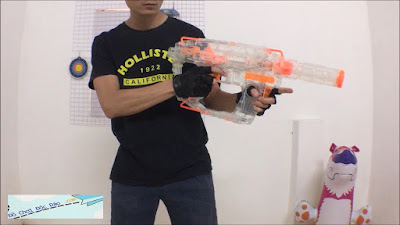 Súng Nerf Trong Suốt 4