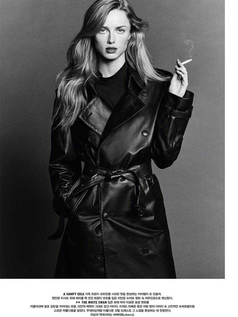 Rianne van Rompaey - Vogue Korea February 2020
