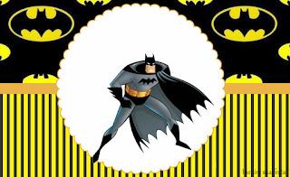 Para hacer invitaciones, tarjetas, marcos de fotos o etiquetas, para imprimir gratis de Batman.