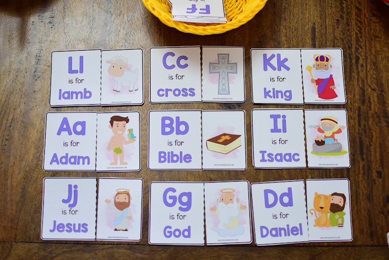Easter Theme Unit: ABC Bible