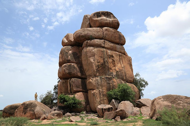 صور من السودان - منظر جبلي طبيعي