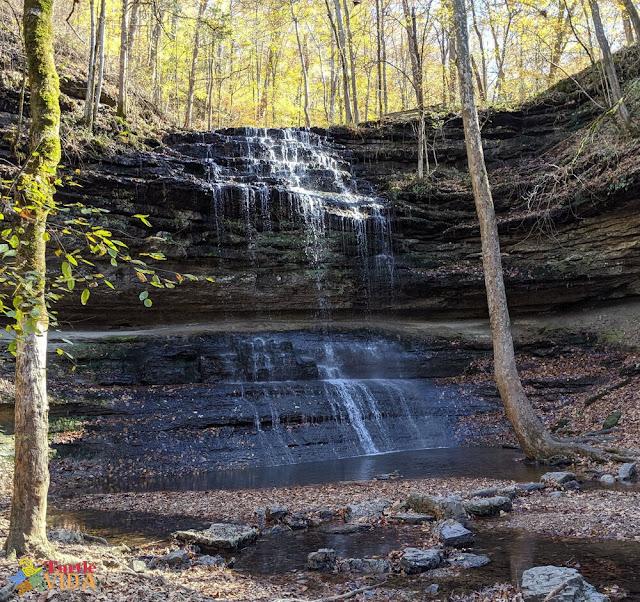Stillhouse Hollow Falls, Mt Pleasant, TN