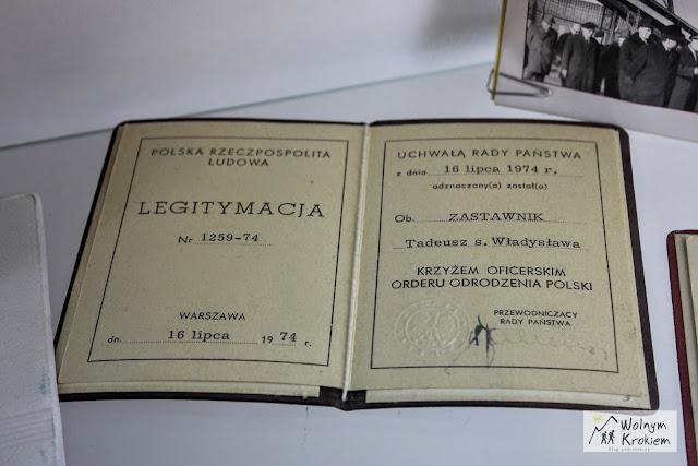 Muzeum Ziemi Lubińskiej - legitymacja Jana Wyżykowskiego