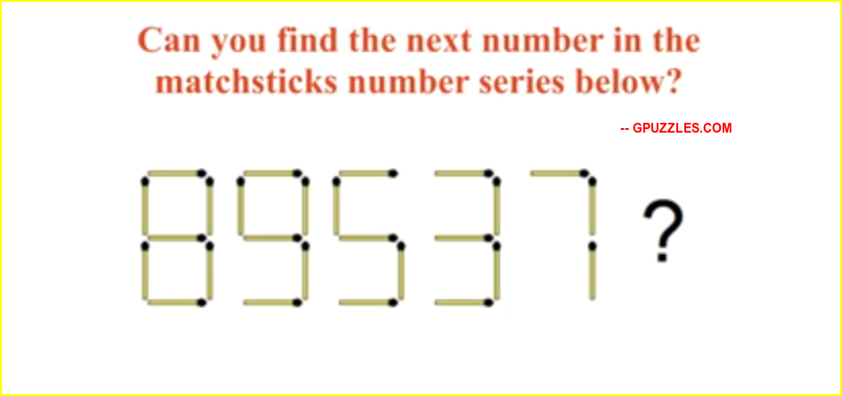 Matchstick Puzzles With Answers Genius Puzzles