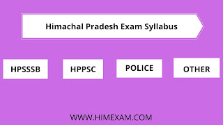 hp exam syllabus