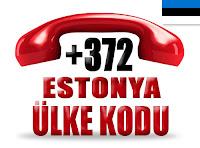 +372 Estonya ülke telefon kodu