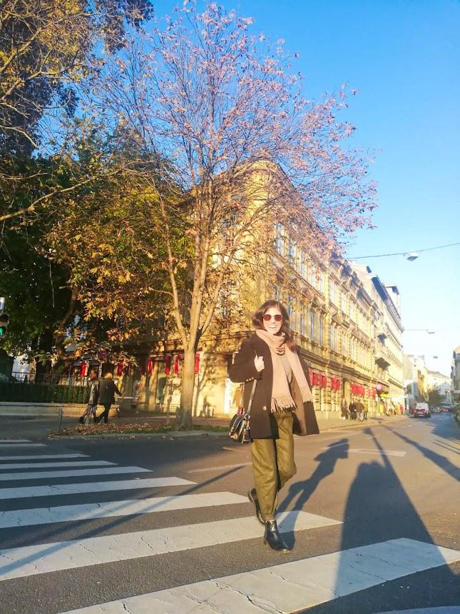 Zara Green Baggy Leather Pants