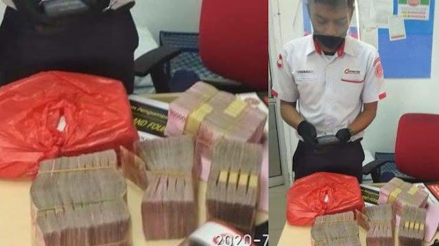 Viral, Kronologi Bungkusan Uang Rp 500 Juta Sempat Dikira Sampah, Petugas Kebersihan Sempat Kaget