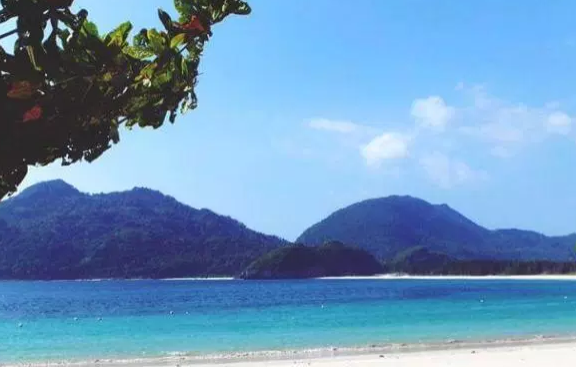 Pantai Lampuuk di Banda Aceh
