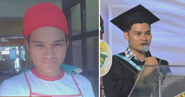 Former janitor and houseboy graduates summa cum laude