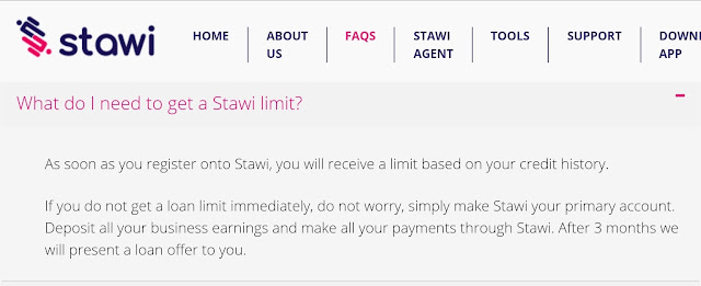 How to Increase Stawi loan limit