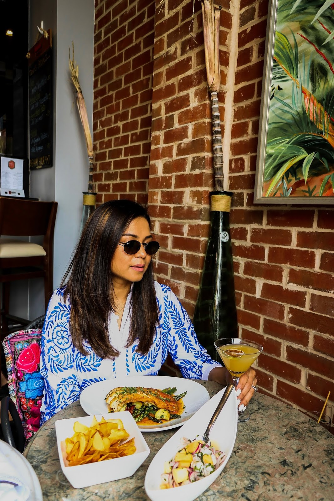 dc food life, places to go for brunch in DC, dc blogger, lifestyle, melrose georgetown, sababa, buena vida social club, high street cafe georgetown, dc foodie, myriad musings, saumya shiohare