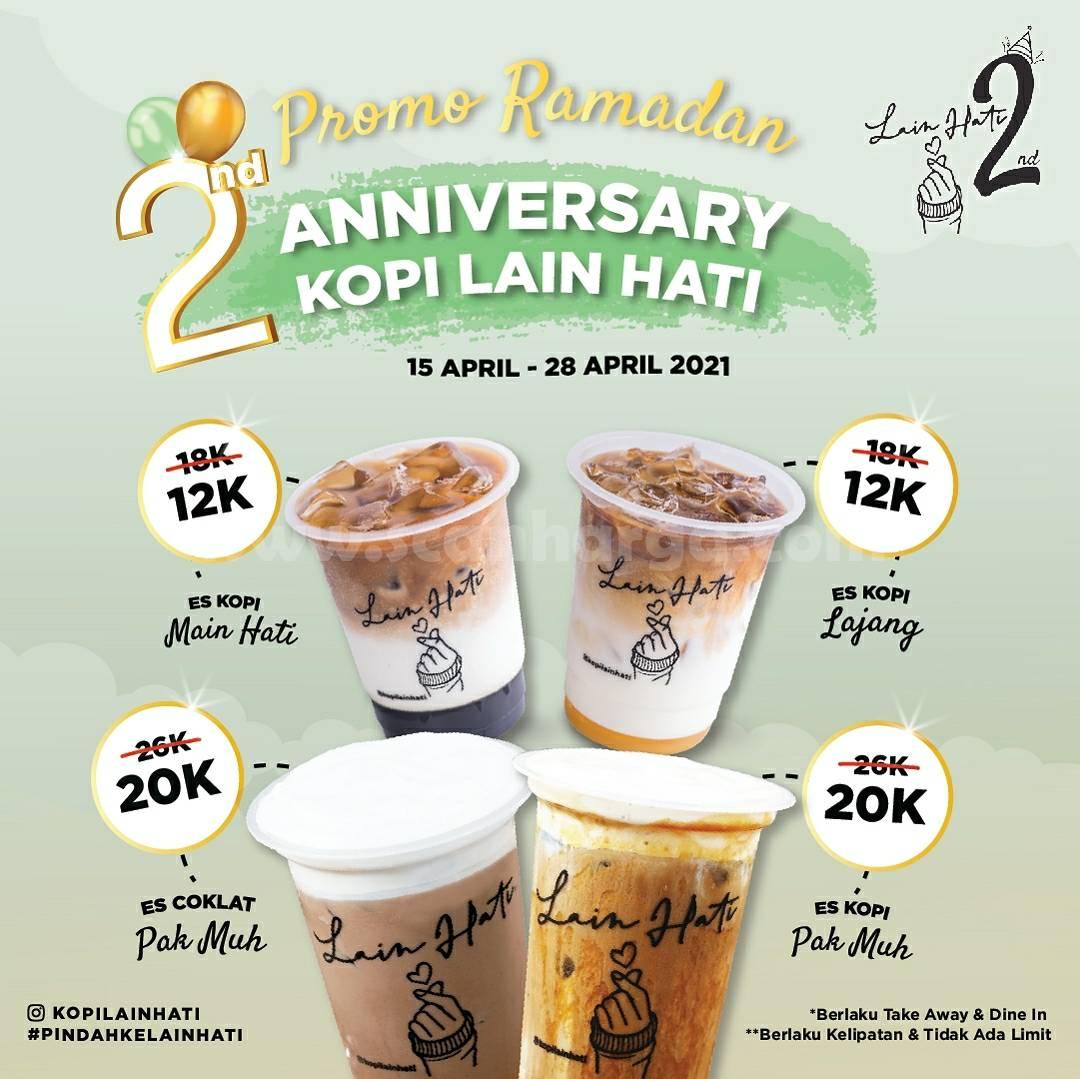 KOPI LAIN HATI Promo Ramadan 2nd Anniversary mulai 12K per Cup