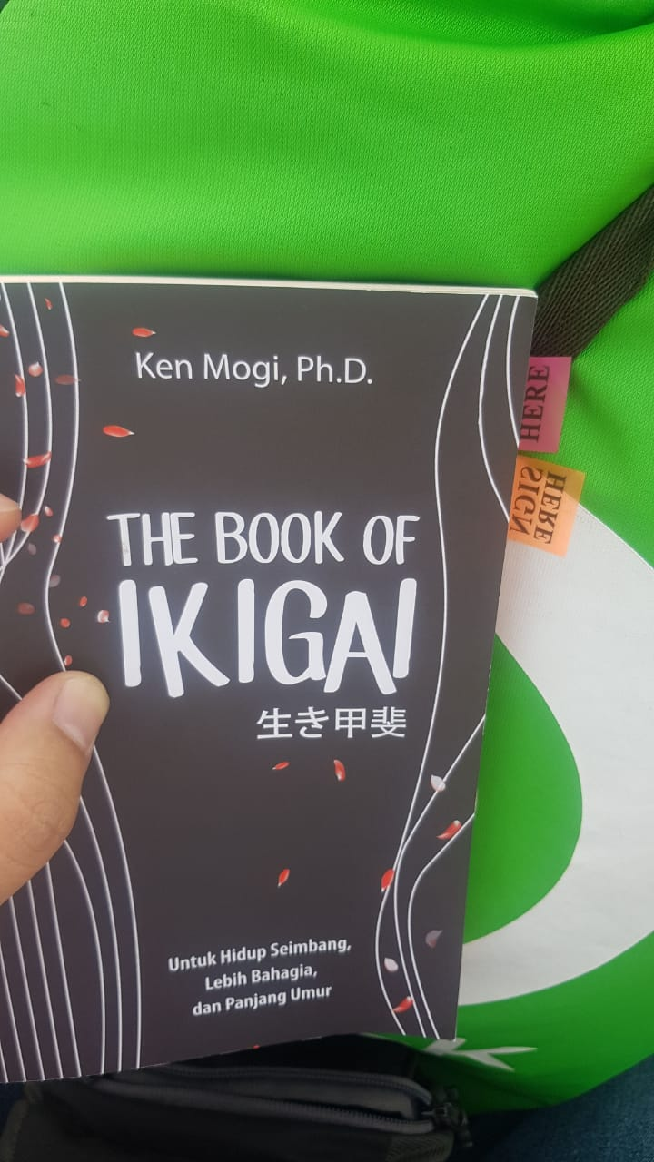 review buku The Book of IKIGAI - Ken Mogi Ph.D.