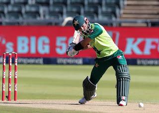 Zimbabwe vs Pakistan 1st T20I 2021 Highlights