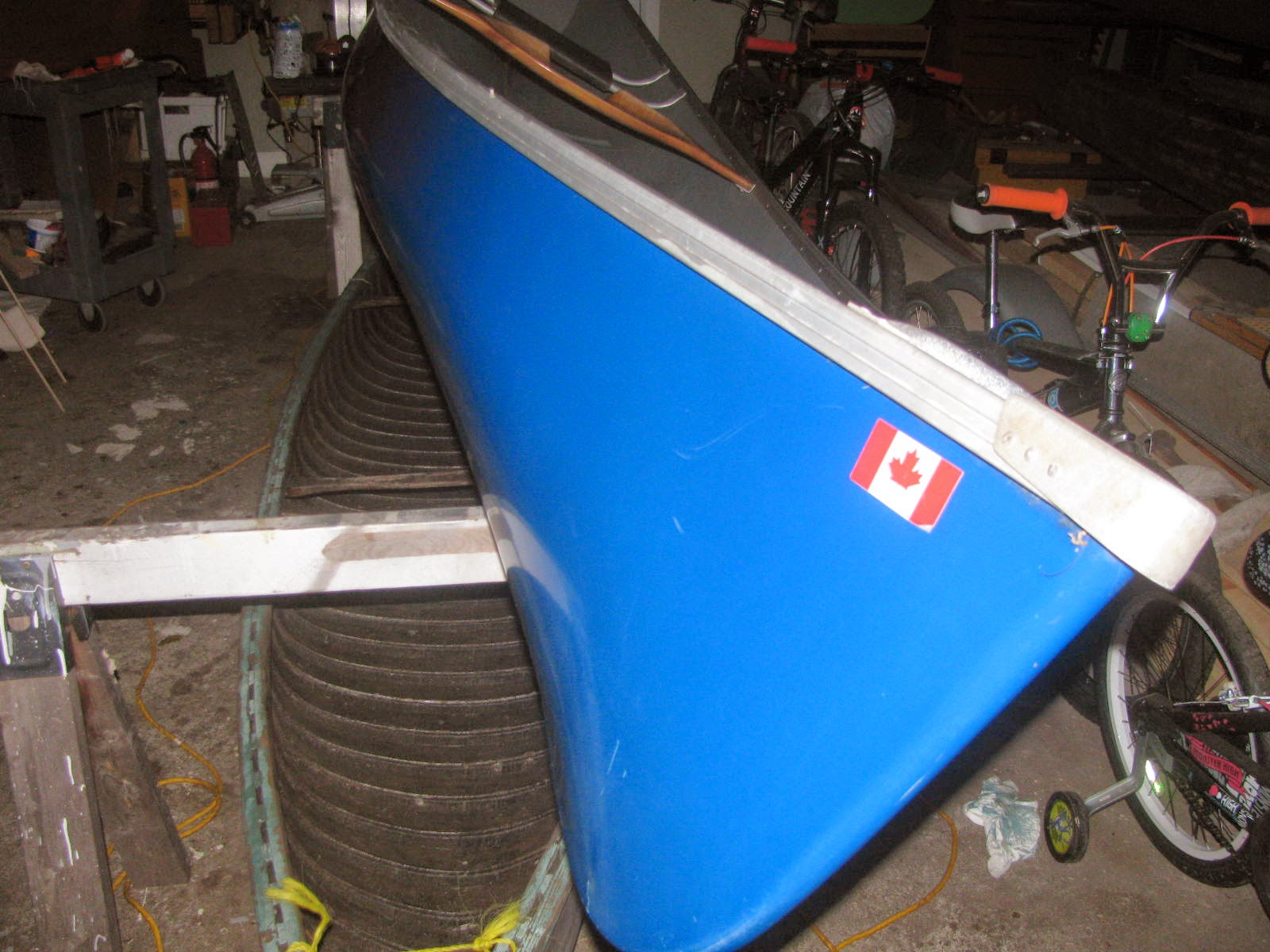 Ravenwood Blog: Aluminum gunwale replacement