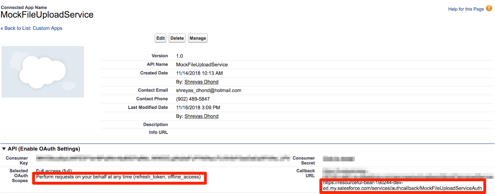 sfdcshred: Rest API Callouts from One Salesforce Org to Another