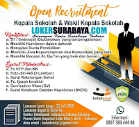 Open Recruitment at MTs Usman Bin Affan Sidoarjo Juni 2020