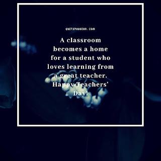 Happy Teachers Day Quote 2019