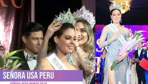 Lorena Muro es Señora Perú Mundo 2019