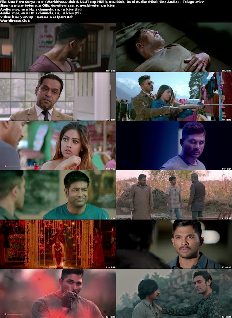 Naa Peru Surya Na Illu India 2018 Hindi Dubbed Movie Download HDRip 720p Dual Audio ESub UNCUT,new souyh indian movie download