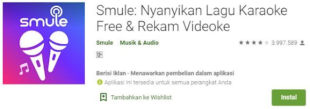 Aplikasi karaoke offline