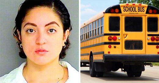 Arrestan a conductora de autobús escolar por salir con alumno