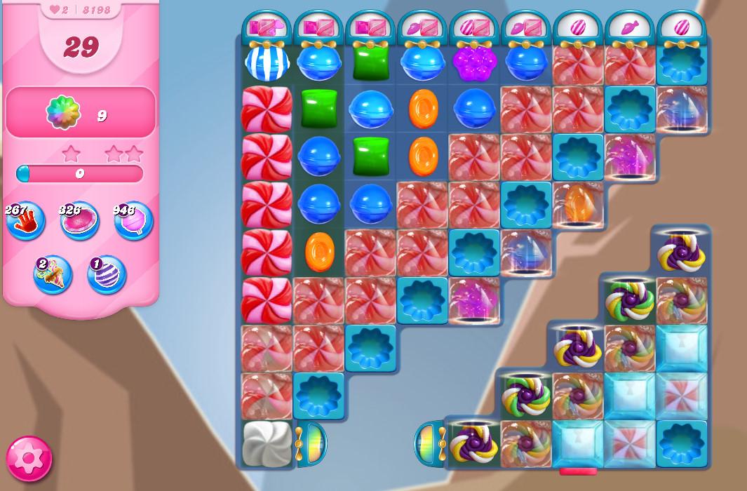 Candy Crush Saga level 8198