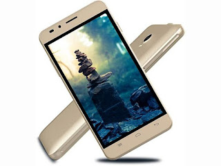 The Indian smartphone Intex launched a novel smartphone inwards the budget segment Intex Aqua Jewel ii launched amongst the five Inches hard disk drive display in addition to VoLTE support