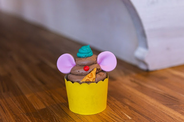 "So This Is Love: A ""Cinderella"" Anniversary Tea Party, Gus Gus Cupcake"