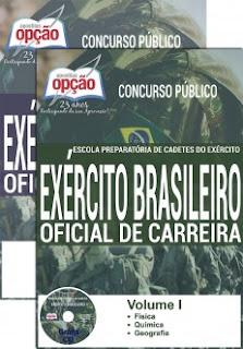 Apostila Concurso EsPCEx Exército Brasileiro, para o cargo de Oficial de Carreira.
