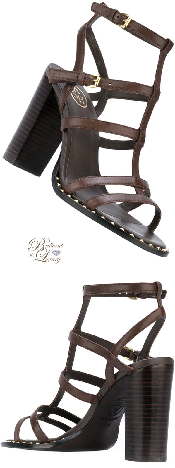 Brilliant Luxury ♦ ASH Strappy Sandals