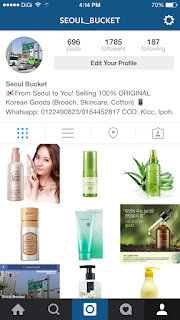 Instagram Seoul bucket