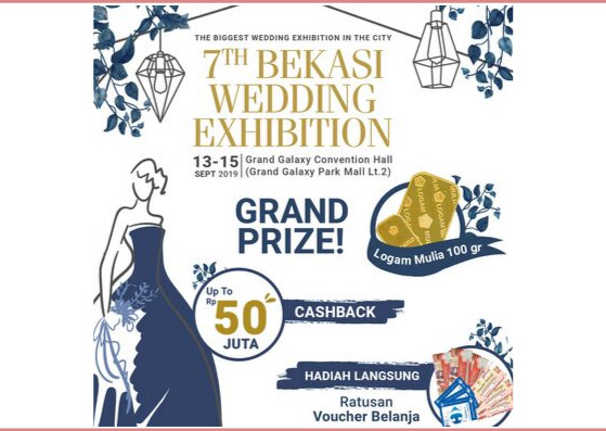 7th bekasi wedding exhibition