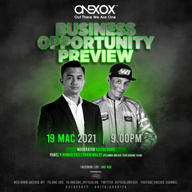 BUSINESS OPPORTUNITY PREVIEW 2021/003 (OneXOX)